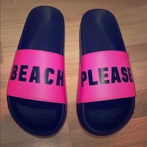 Pink Brand- Slides